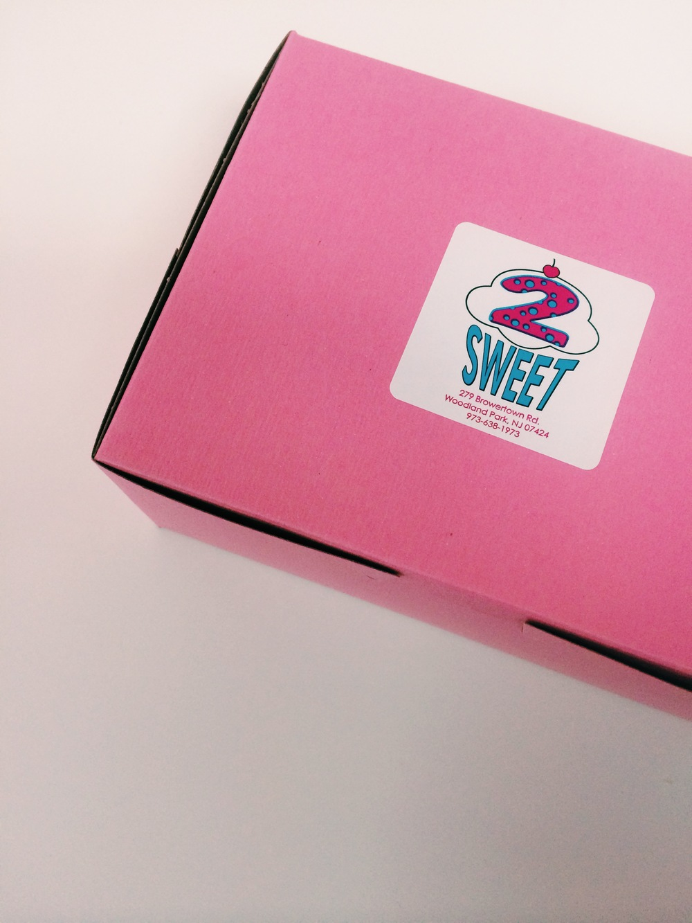 Even the boxes are sweet.