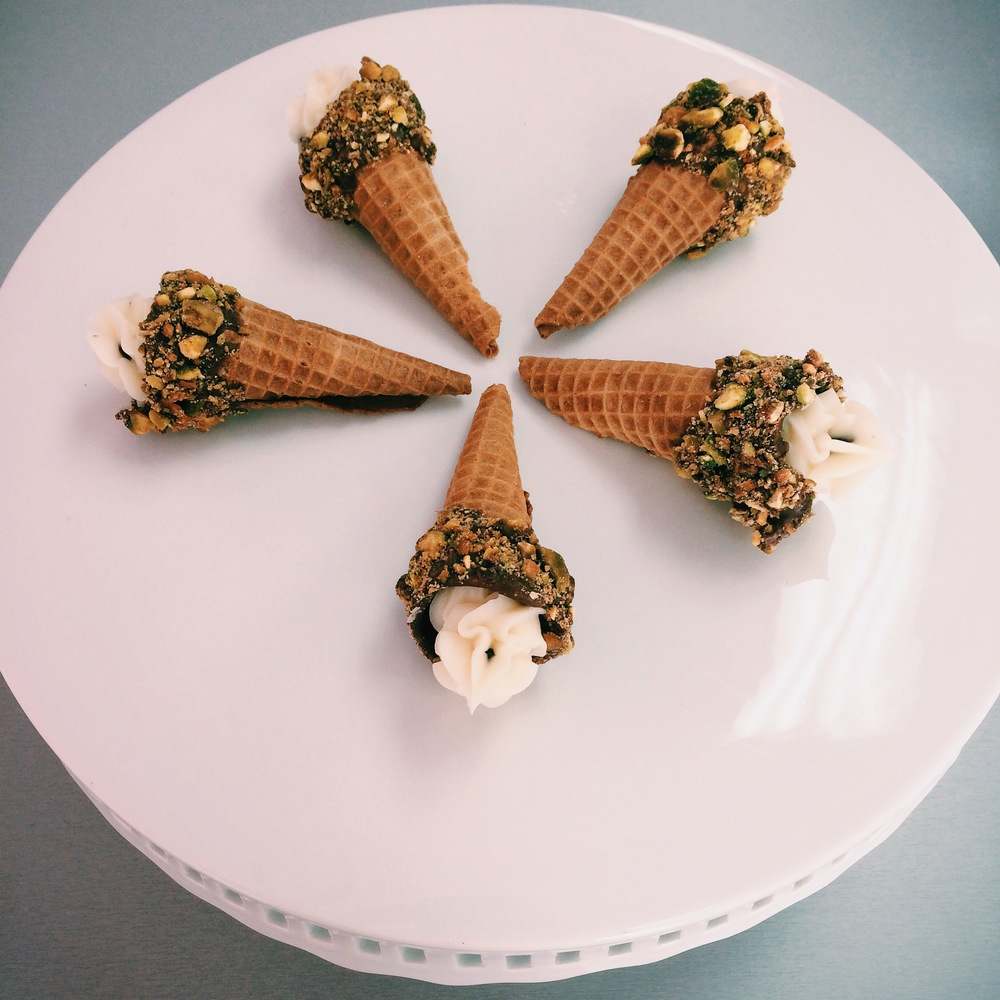 And did I mention cannoli cones!?