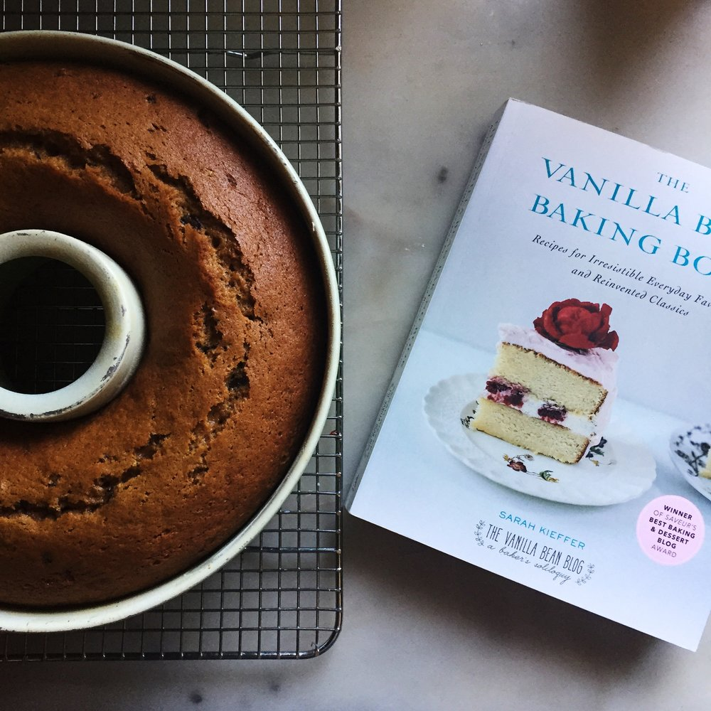 I have always enjoyed coupling stories with sweets. Be sure and reference Sarah Kieffer's Pumpkin Pound Cake with chocolate from her glorious baking book, The Vanilla Bean Baking Book as well as an opportunity to give back this Veterans Day at the conclusion of this post.