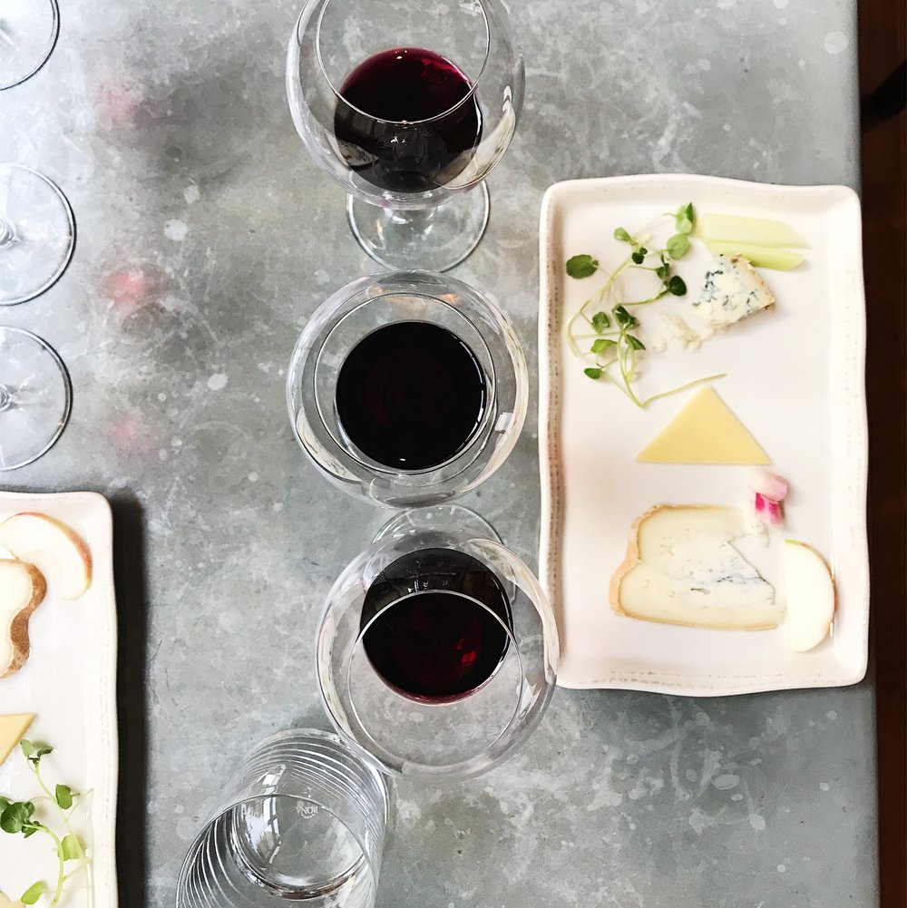 Wine and Cheese Class at Italienne