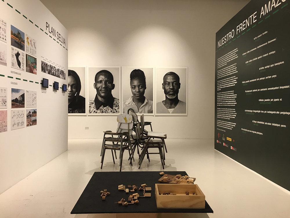 """""""Our Amazon Frontline"""" exhibit in Valparaíso / muestra """"Nuestro Frente Amazónico"""" Valparaíso"""