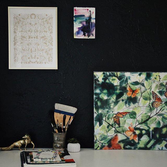 A corner of my studio