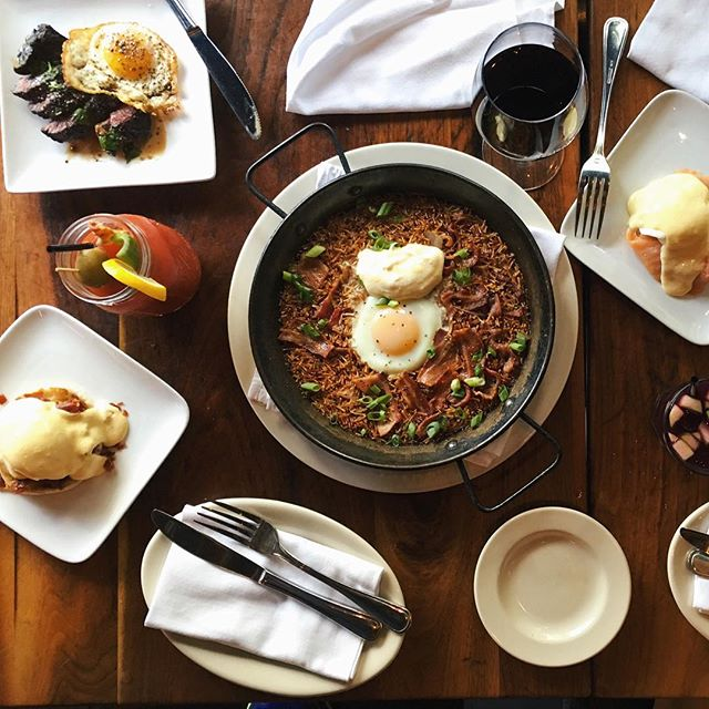 Sunday's are for brunching on all of the things #cteats @cteatsout