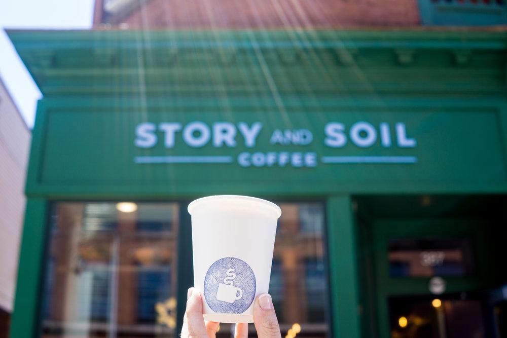 Story and Soil Coffee Lifestyle Photographer Alycia Chrosniak