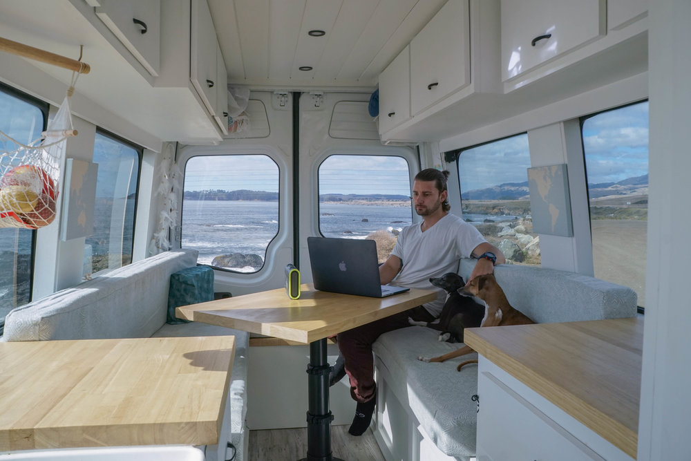 40 hours of freedom alex james braven speaker central coast vanlife