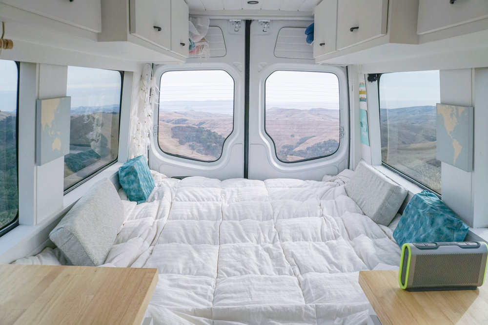 40 Hours Of Freedom Vanlife Sprinter Van Conversion Diy