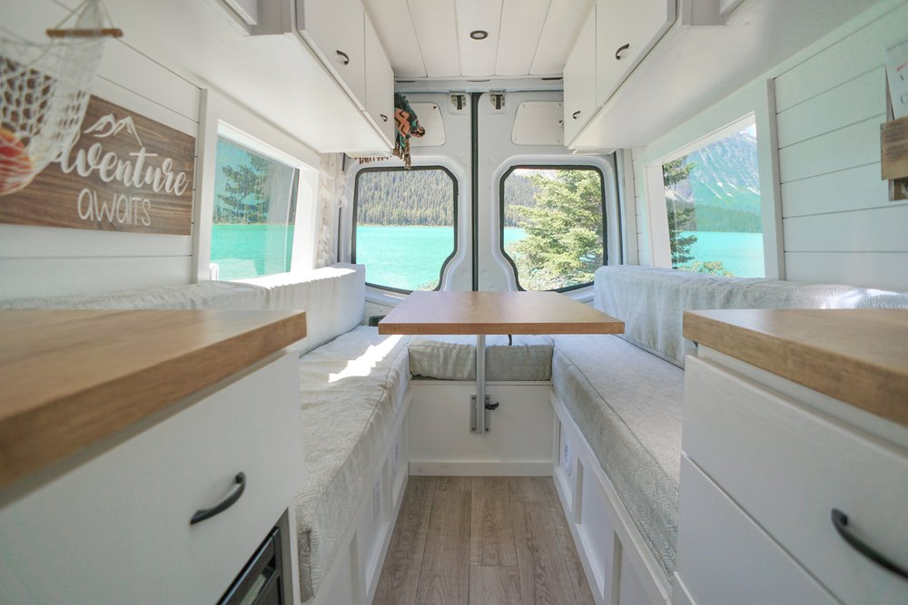 40 hours of freedom van conversion cost sprinter mercedes