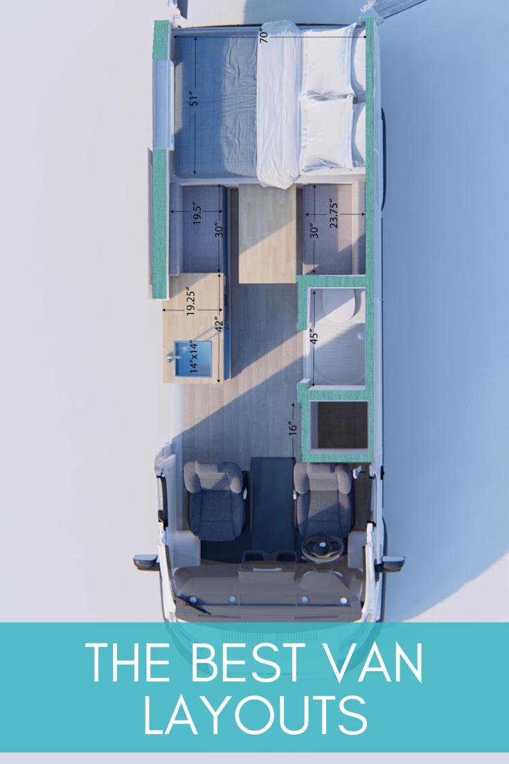 Best Conversion Van Layouts How To Design Your Van Conversion Sara Alex James 40 Hours Of Freedom