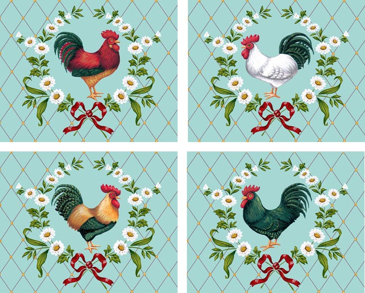 Rooster Portraits