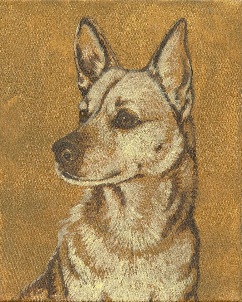 Dog-Portrait-Sepia
