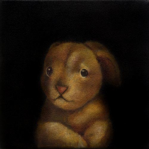 Awake Bunny ptg 4