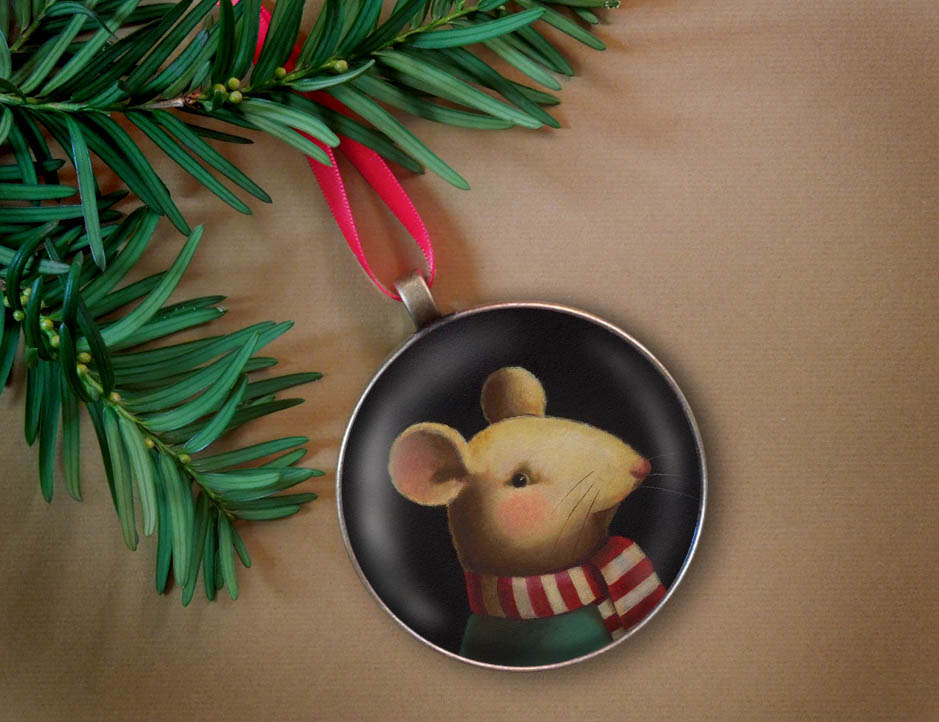 Christmas Mouse-Curious Portraits