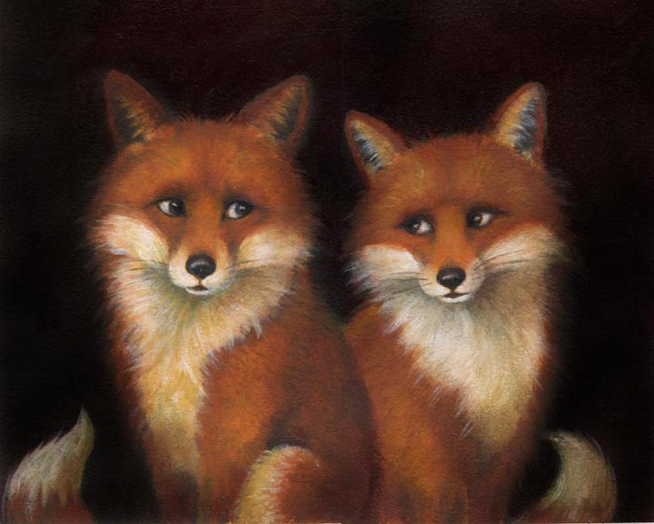 Fox Couple-Lisa Zador