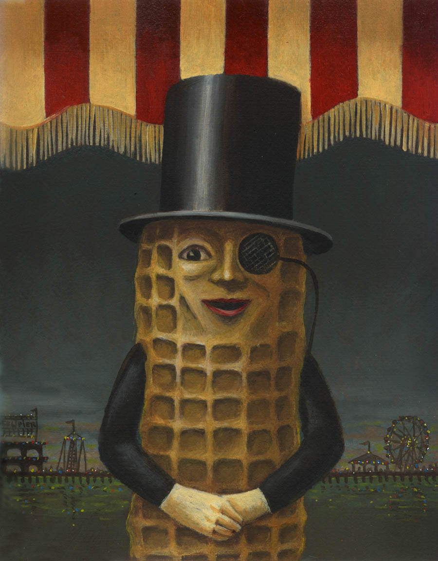 Mr Peanut portrait 1