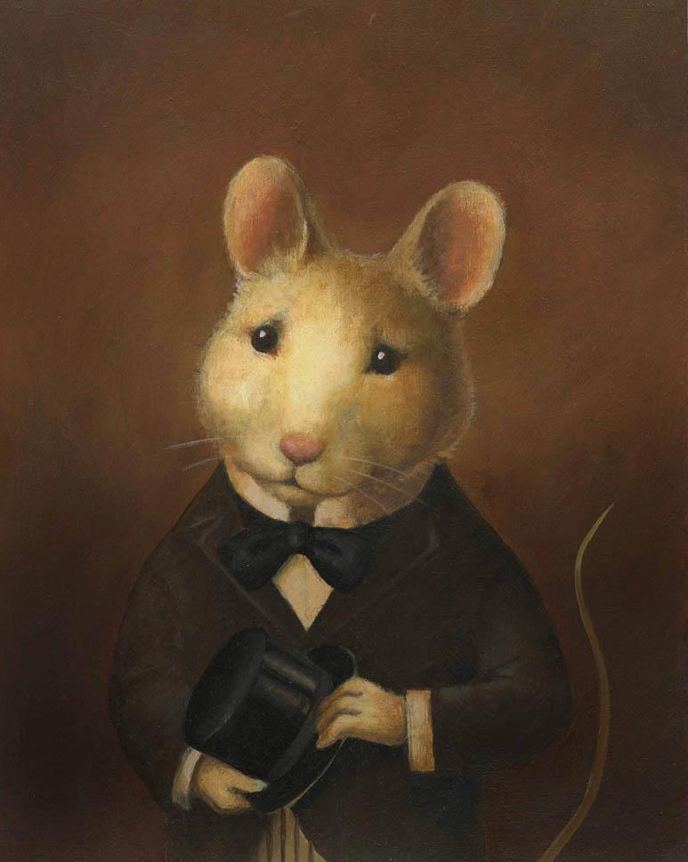 Mouse Portrait Victorian