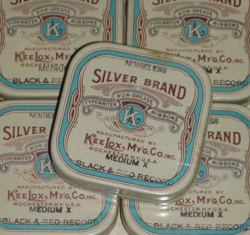 Silver Brand ribbon