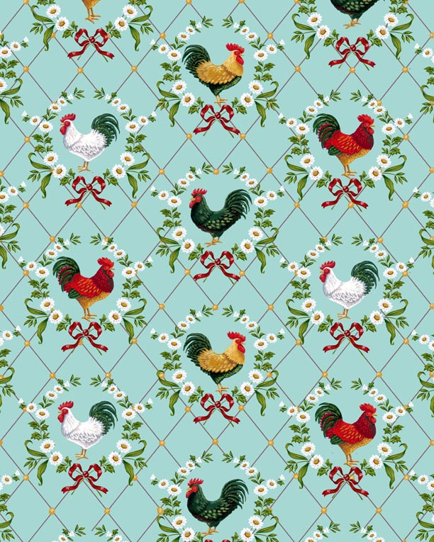 Rooster-Print
