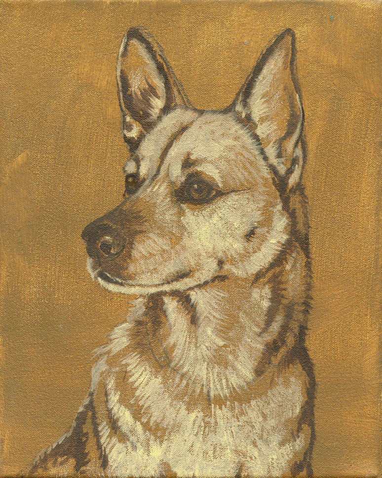 Dog-Portrait-Sepia