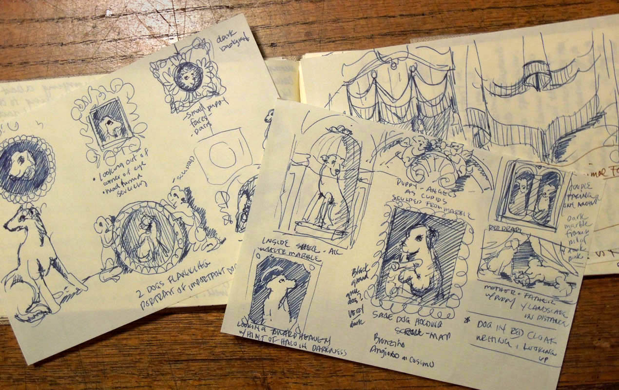 lisa zador-travel sketchbook