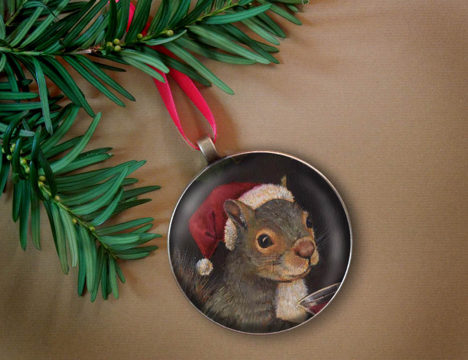 Santa Squirrel-Curious Portraits