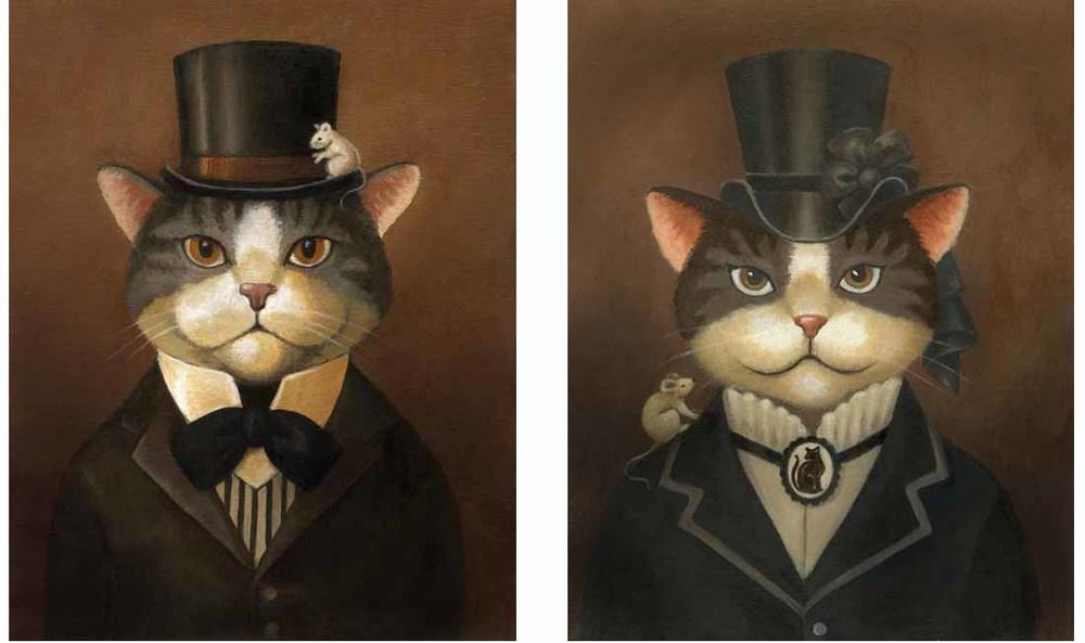 Victorian Cats-Lisa Zador
