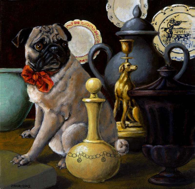 Pug-Portrait-Lisa-Zador