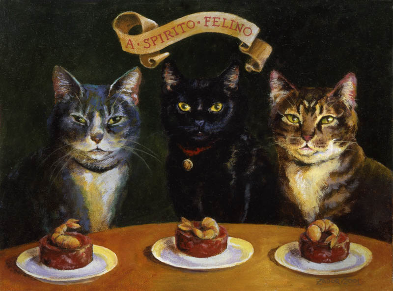 Triple-Cat-Portrait-Lisa-Zador