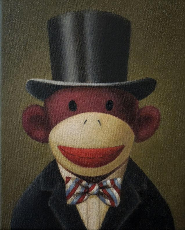 Sock-Monkey-Portrait-Lisa-Zador