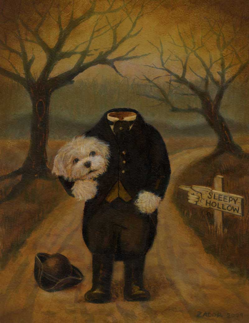 Lisa Zador-Sleepy Hollow Dog