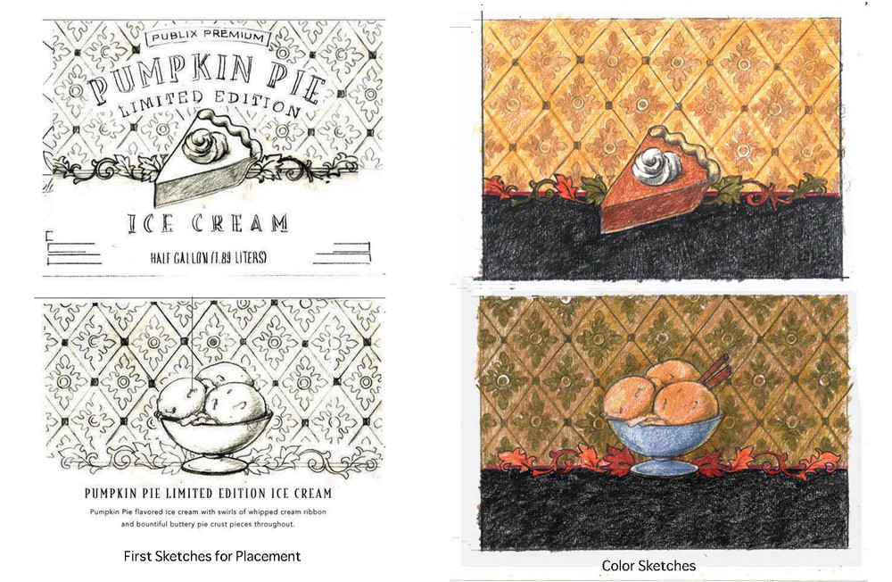 Publix-Ice-Cream-Sketches