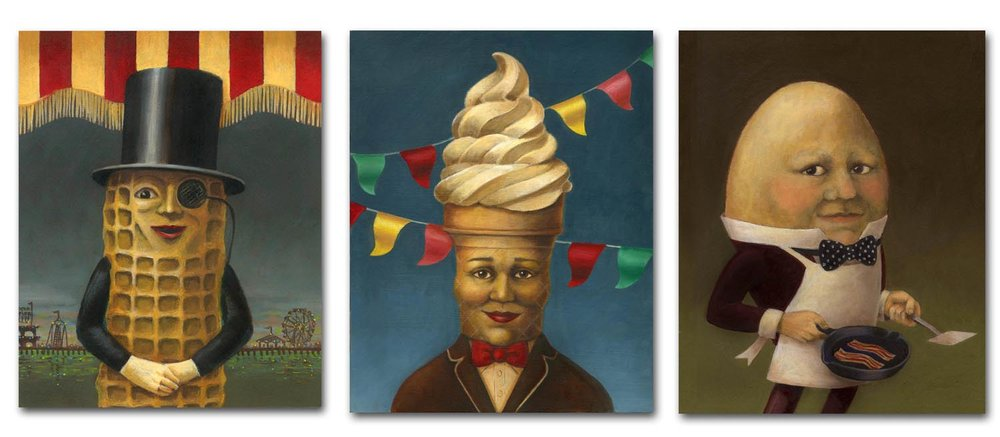 The original set of quirky portraits