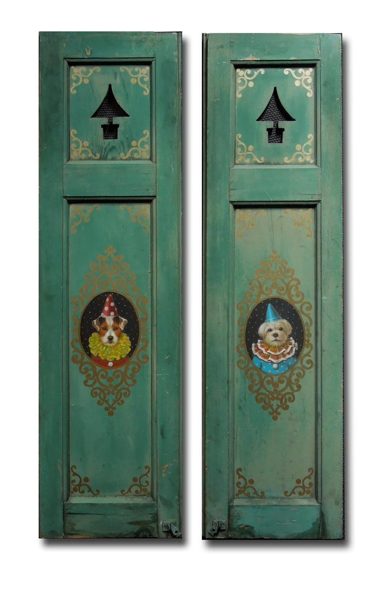 Puppet Theater Doors