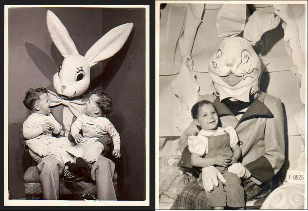 Some terrifying rabbits from my childhood