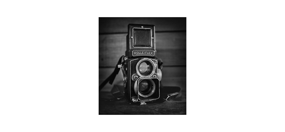 Above - My 1955 Rolleiflex 2.8 F