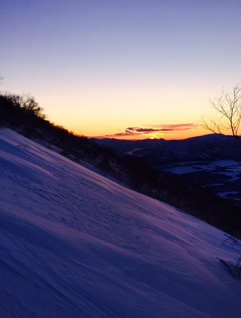 Early Morning climb up Mt Yotei.