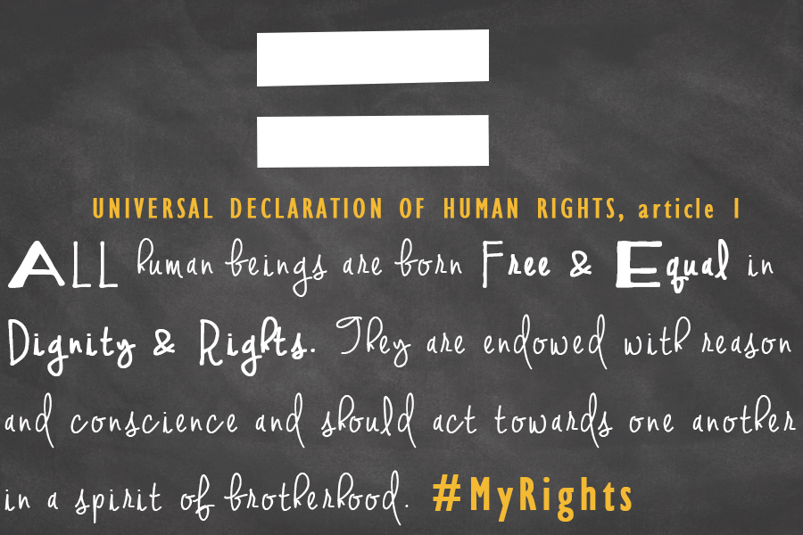 The First Article of the Universal Declaration of Human Rights