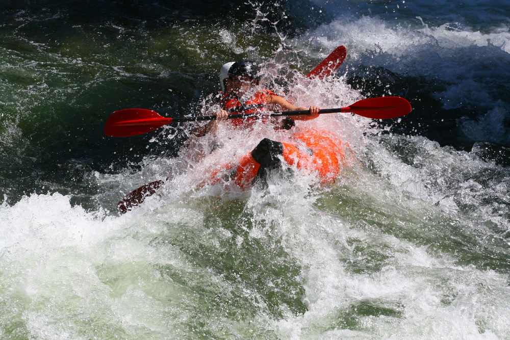 Get wet and wild and close to the action in our inflatable kayaks.