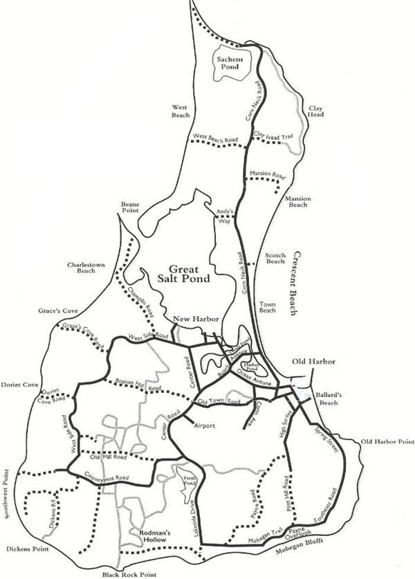 map block island