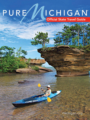 2016 Pure Michigan Travel Guide Cover
