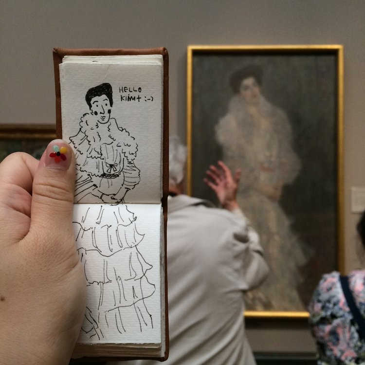 Museum Ladies: National Gallery, UK