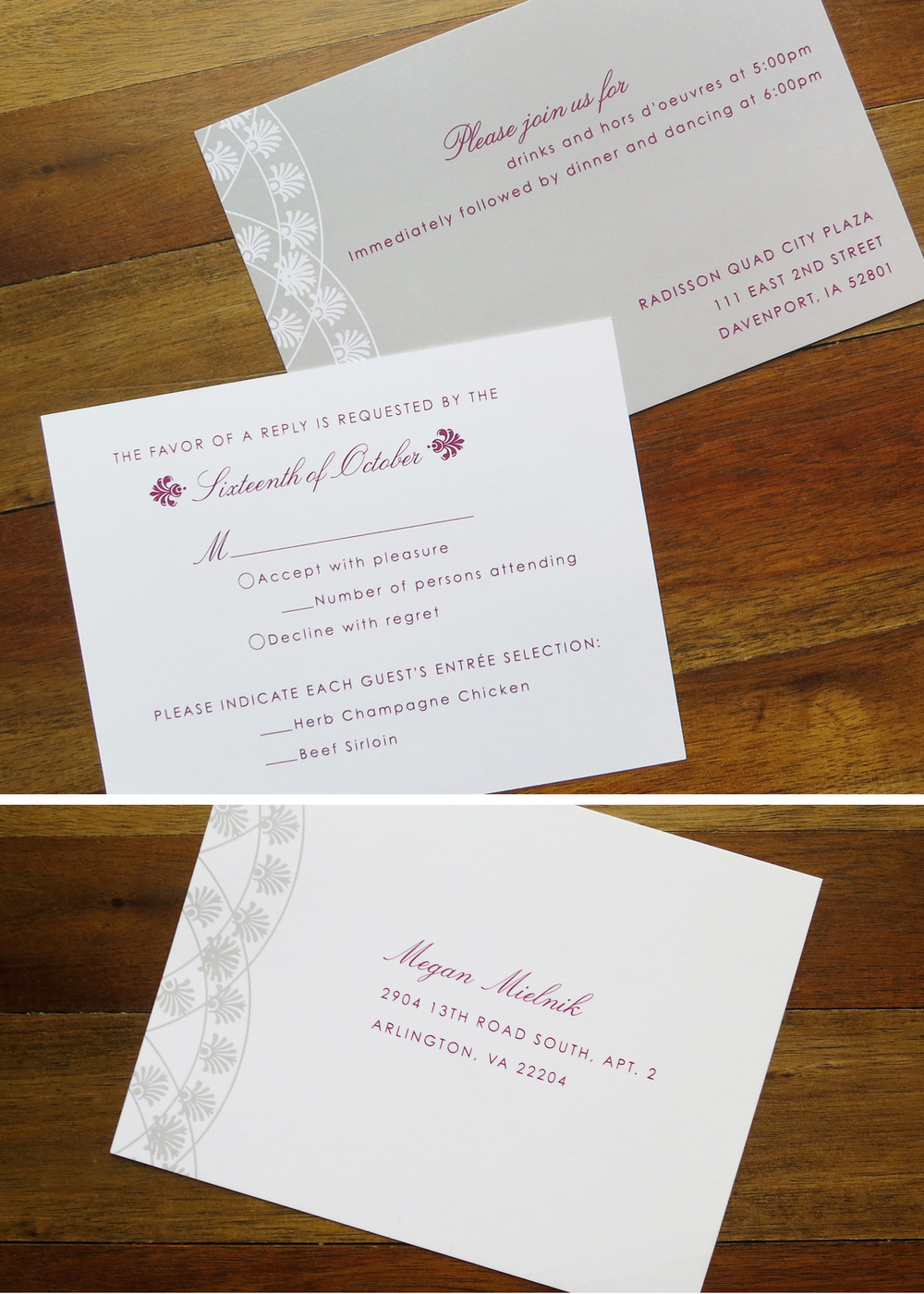 Wedding Invitations — portfolio