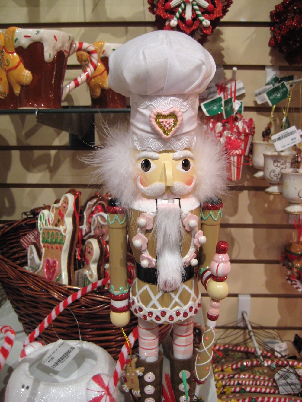 Check out this Pastry Chef nutcracker I found.