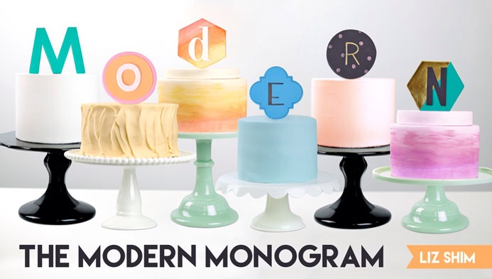 ECBM Craftsy The Modern Monogram