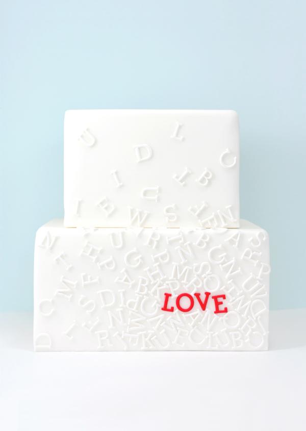 ECBM Love Letters Cake