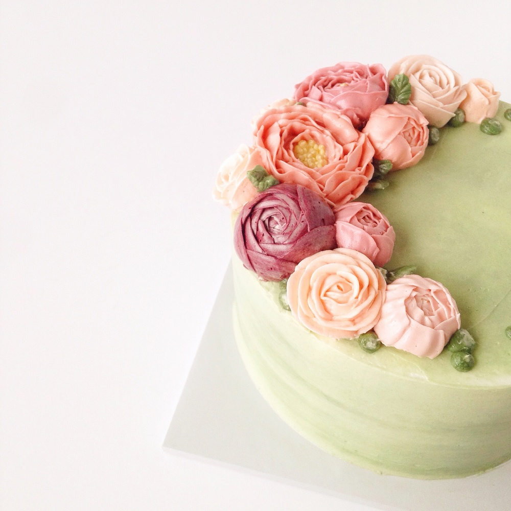 Images Of Buttercream Cakes