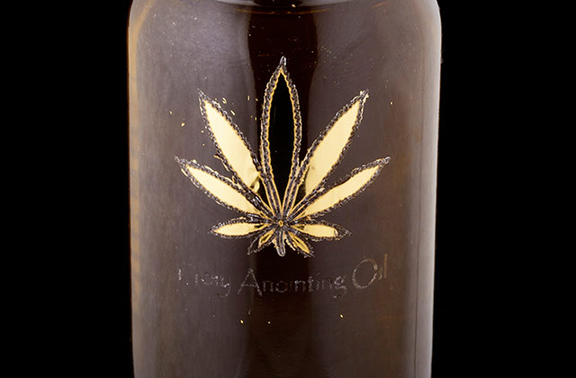 The Holy Anointing Oil by Om Edibles™ All Female Collective