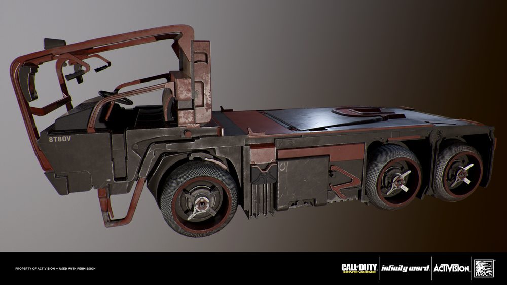 Retextured prop. Modeled by another artist.