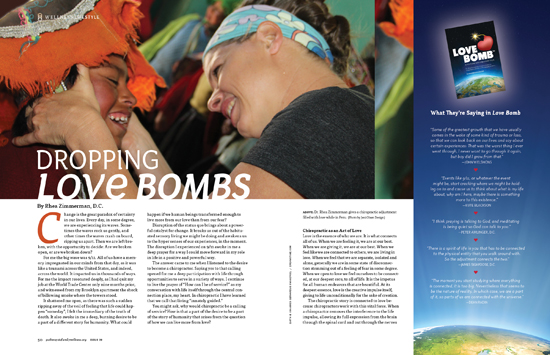 AN ARTICLE BY DR. RHEA ZIMMERMAN KOMAREK IN THE PATHWAYS MAGAZINE.  CLICK HERE TO READ.