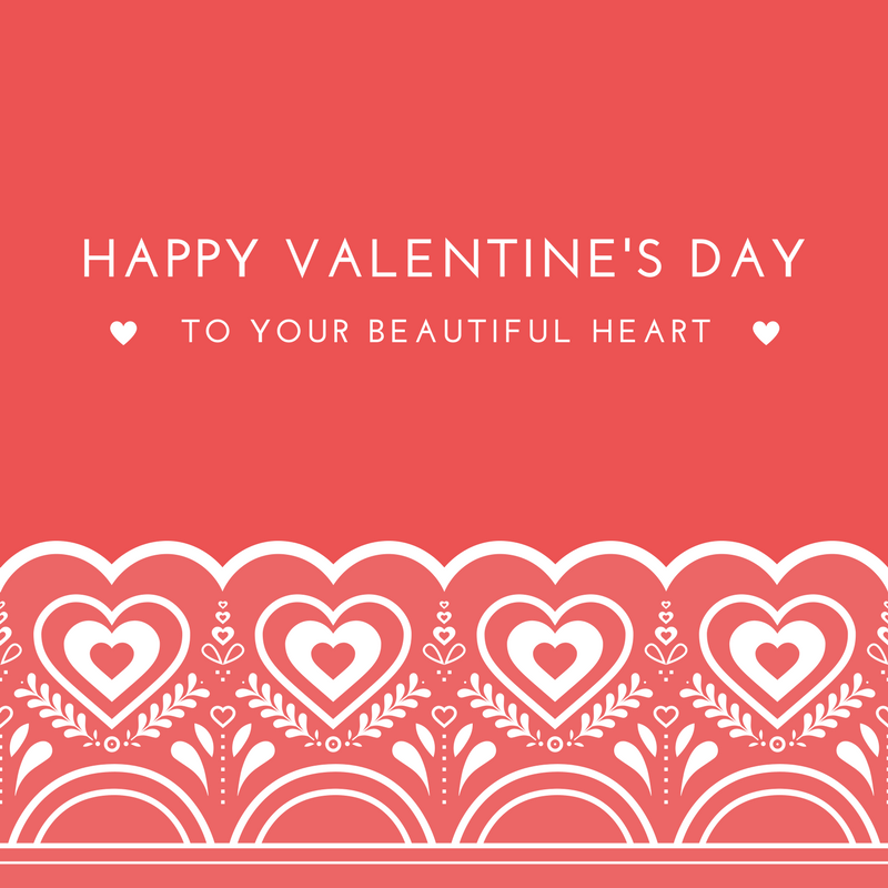 Happy Valentines Day To Your Beautiful Heart Love Bomb The Movie