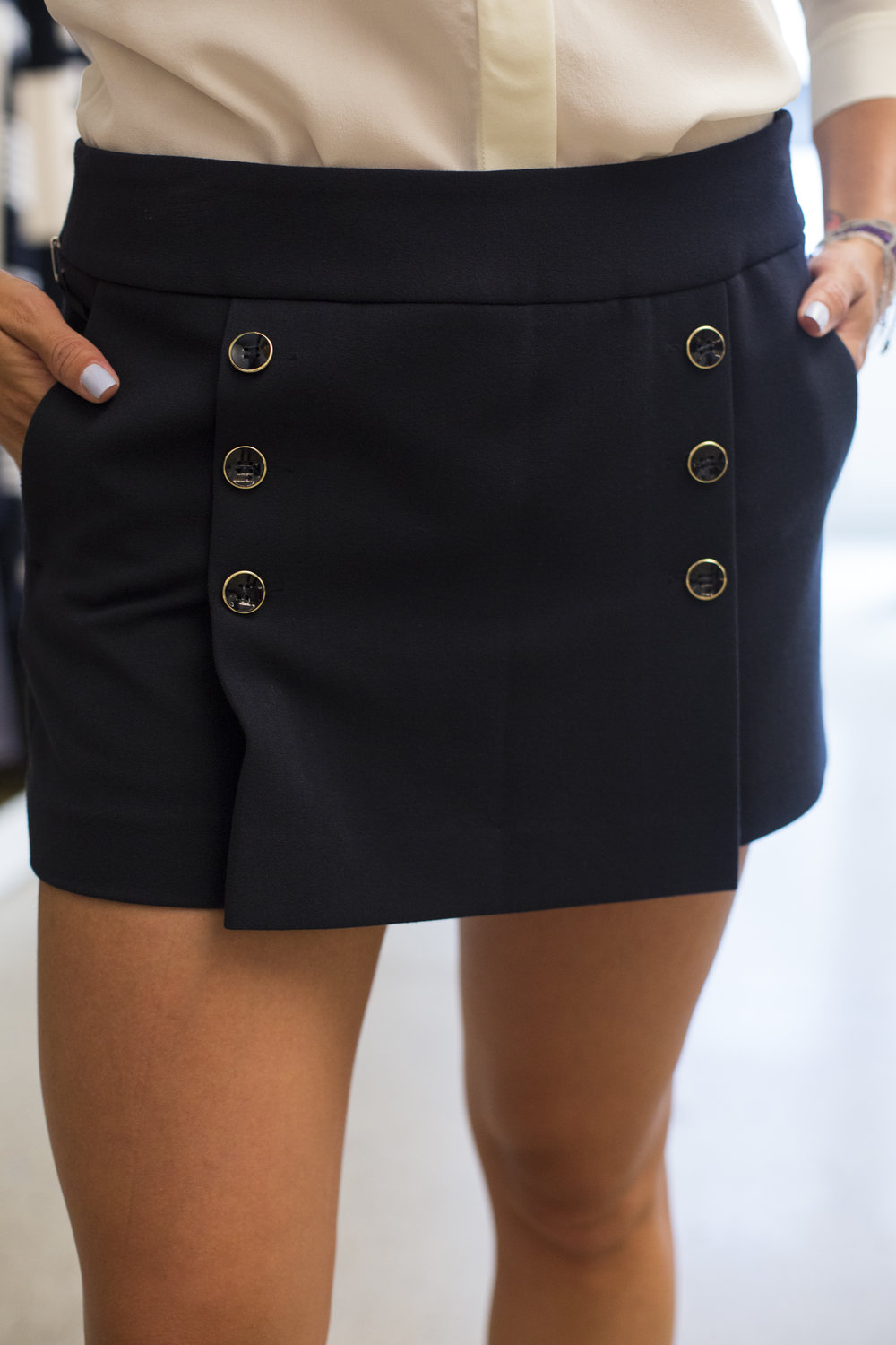 The nautical skort is such a great look, so many ideas on how to style! I'm on the waiting list for this...